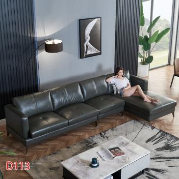 Ghế sofa da D113