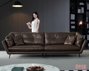Ghế sofa da D115