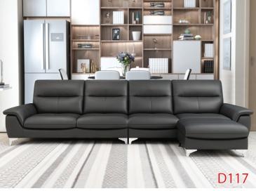 Ghế sofa da D117