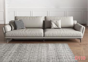 Ghế sofa da D118