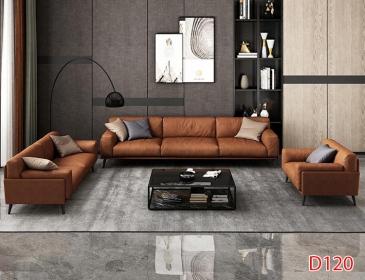 Ghế sofa da D120