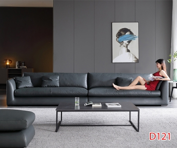 Ghế sofa da D121
