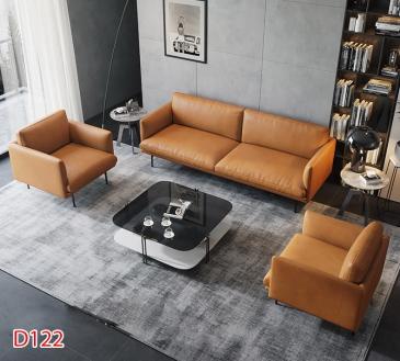 Ghế sofa da D122
