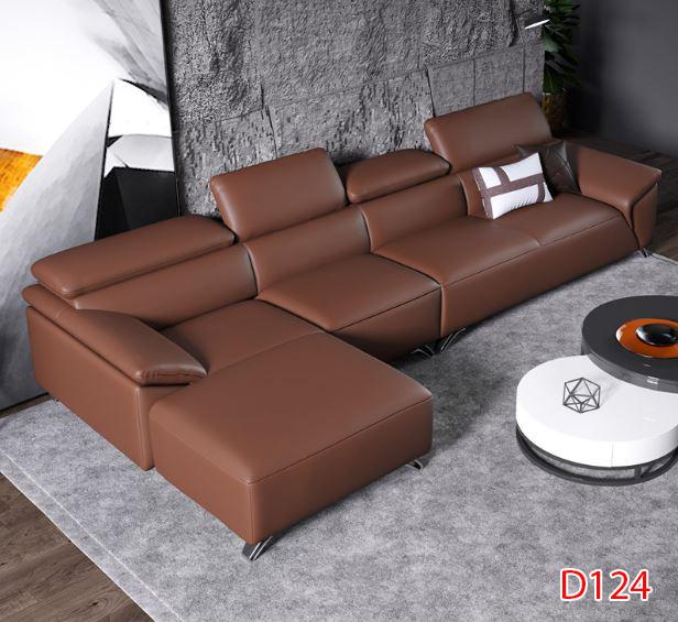 Ghế sofa da D124