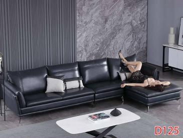 Ghế sofa da D125