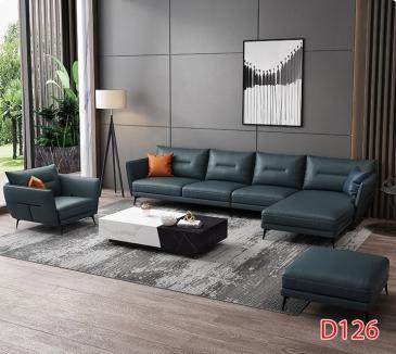 Ghế sofa da D126