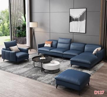 Ghế sofa da D127