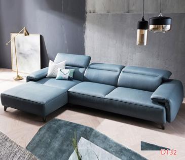 Ghế sofa da D132