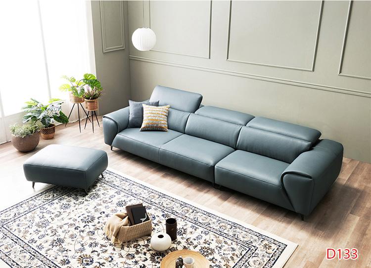 Ghế sofa da D133