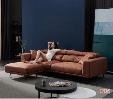 Ghế sofa da D135