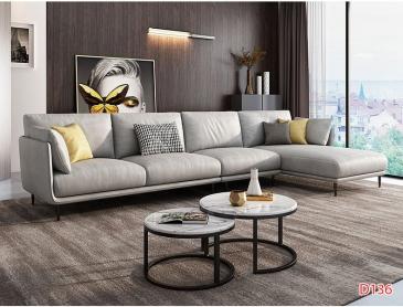 Ghế sofa da D136