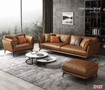 Ghế sofa da D137
