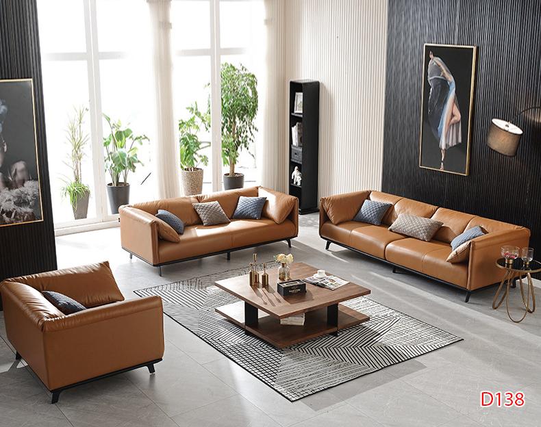 Ghế sofa da D138