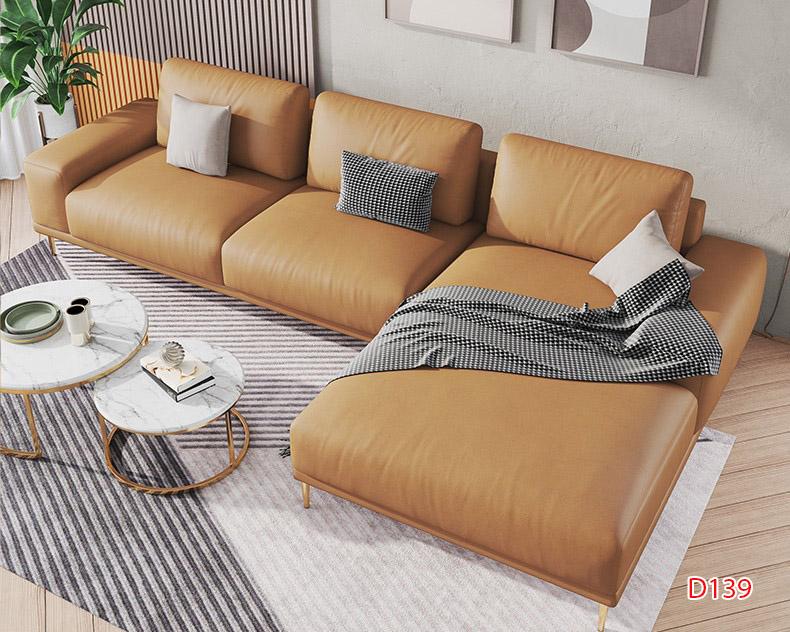 Ghế sofa da D139