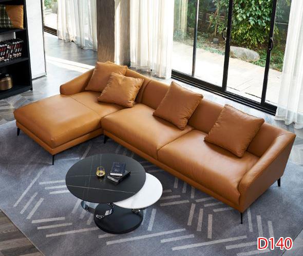 Ghế sofa da D140