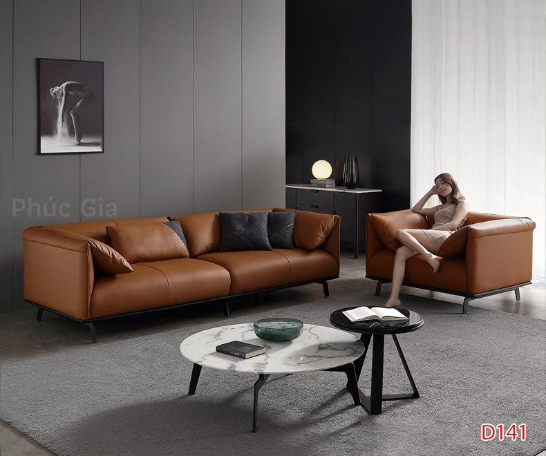 Ghế sofa da D141