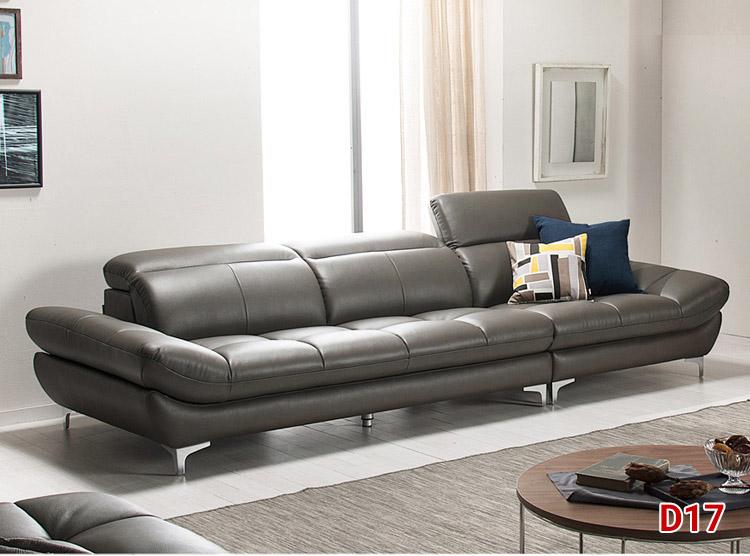 Sofa da đẹp D17, mẫu sofa da dáng hiện đại tinh tế | Xưởng ...