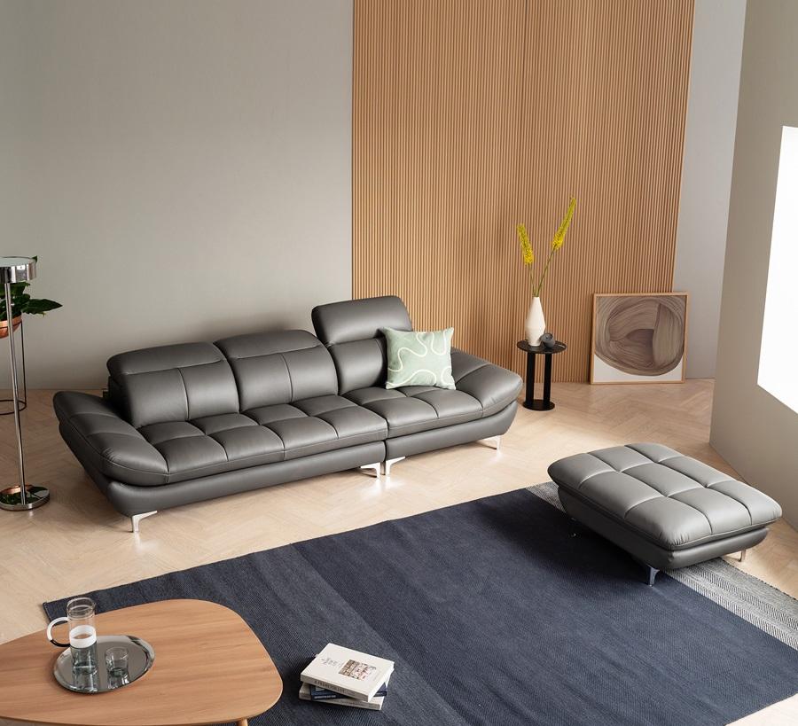 Ghế sofa da D17