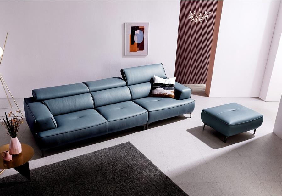 Ghế sofa da D44