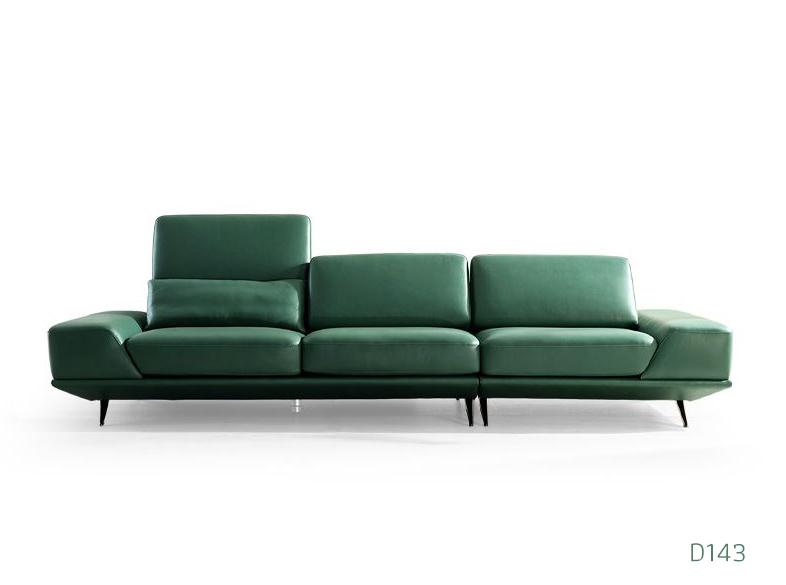 Ghế sofa da D143