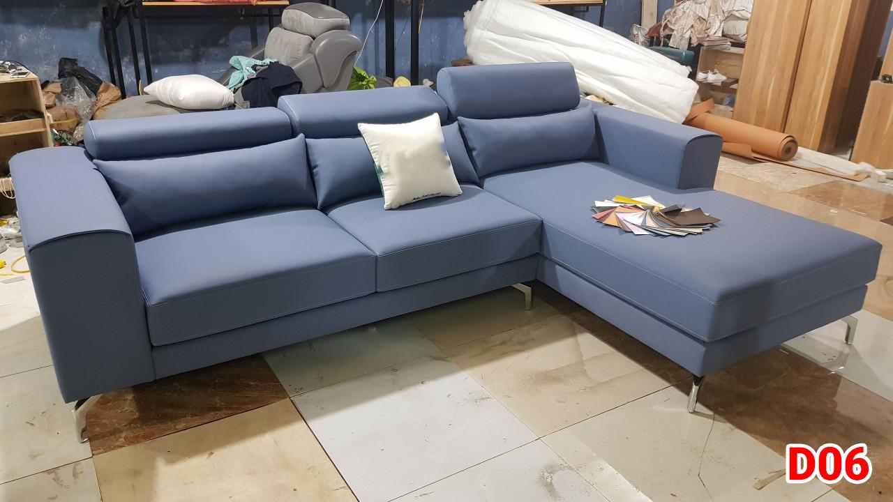 Ghế sofa da D06