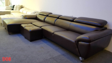 Ghế sofa da D08