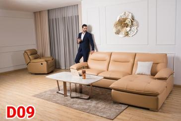 Ghế sofa da D09