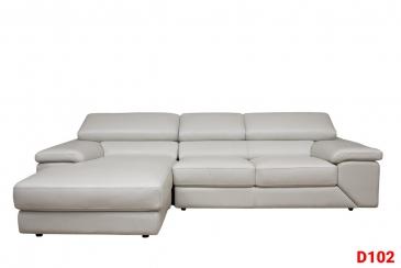 Ghế sofa da D102
