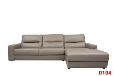Ghế sofa da D104