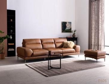 Ghế sofa da D105
