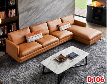 Ghế sofa da D106