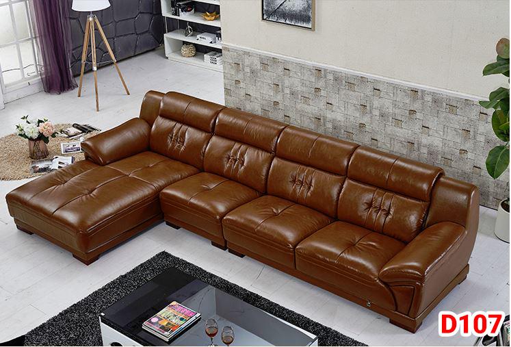 Ghế sofa da D107