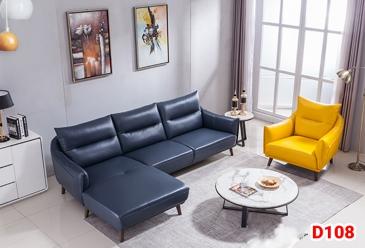 Ghế sofa da D108