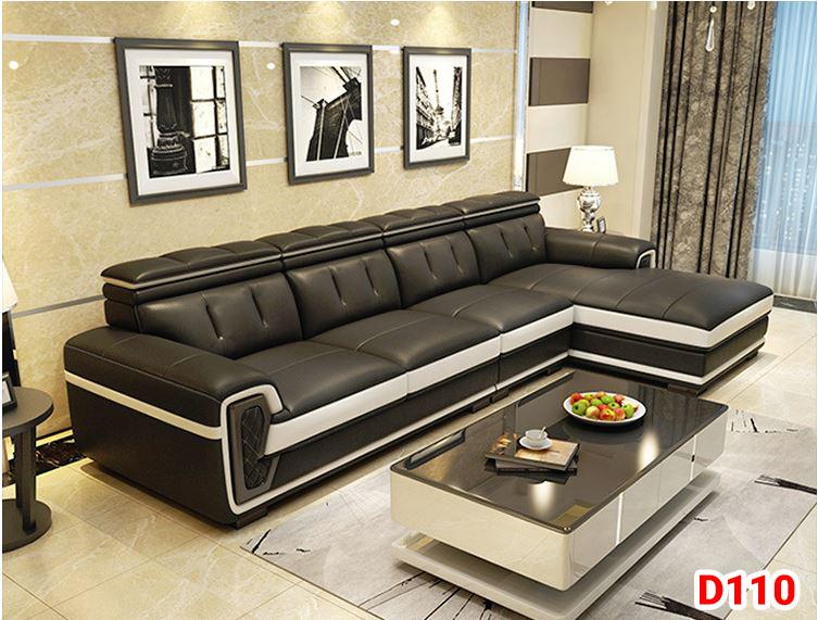 Ghế sofa da D110