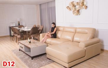 Ghế sofa da D12