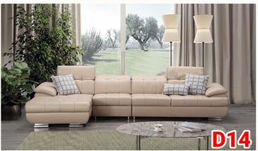 Ghế sofa da D14