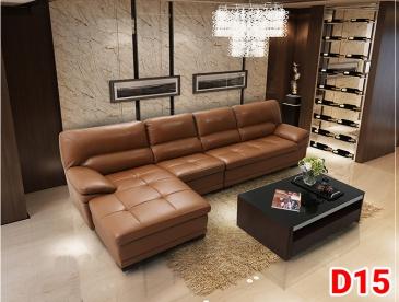 Ghế sofa da D15