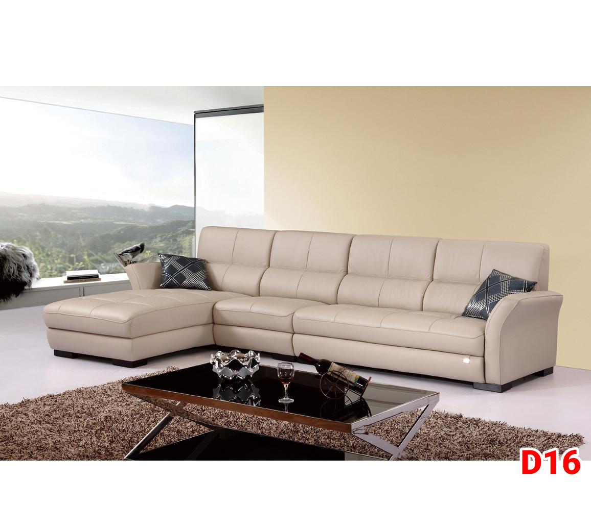 Ghế sofa da D16