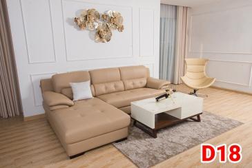 Ghế sofa da D18