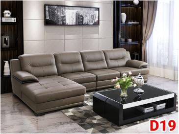 Ghế sofa da D19