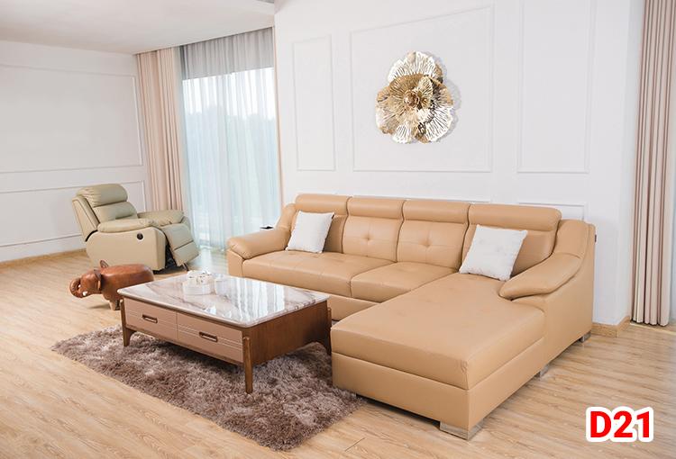 Ghế sofa da D21