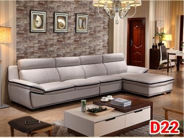 Ghế sofa da D22