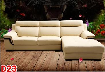 Ghế sofa da D23