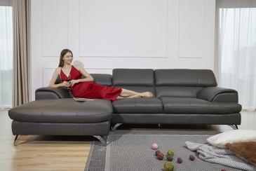 Ghế sofa da D24