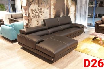 Ghế sofa da D26