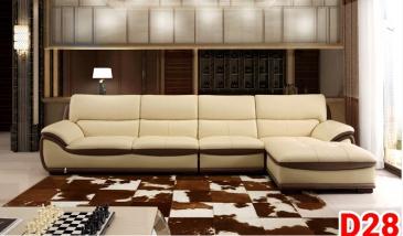 Ghế sofa da D28
