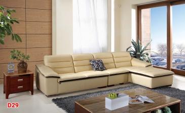 Ghế sofa da D29