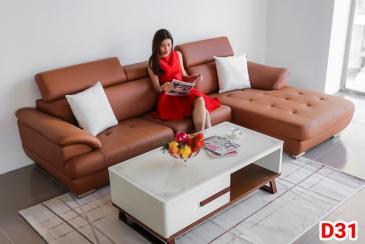 Ghế sofa da D31