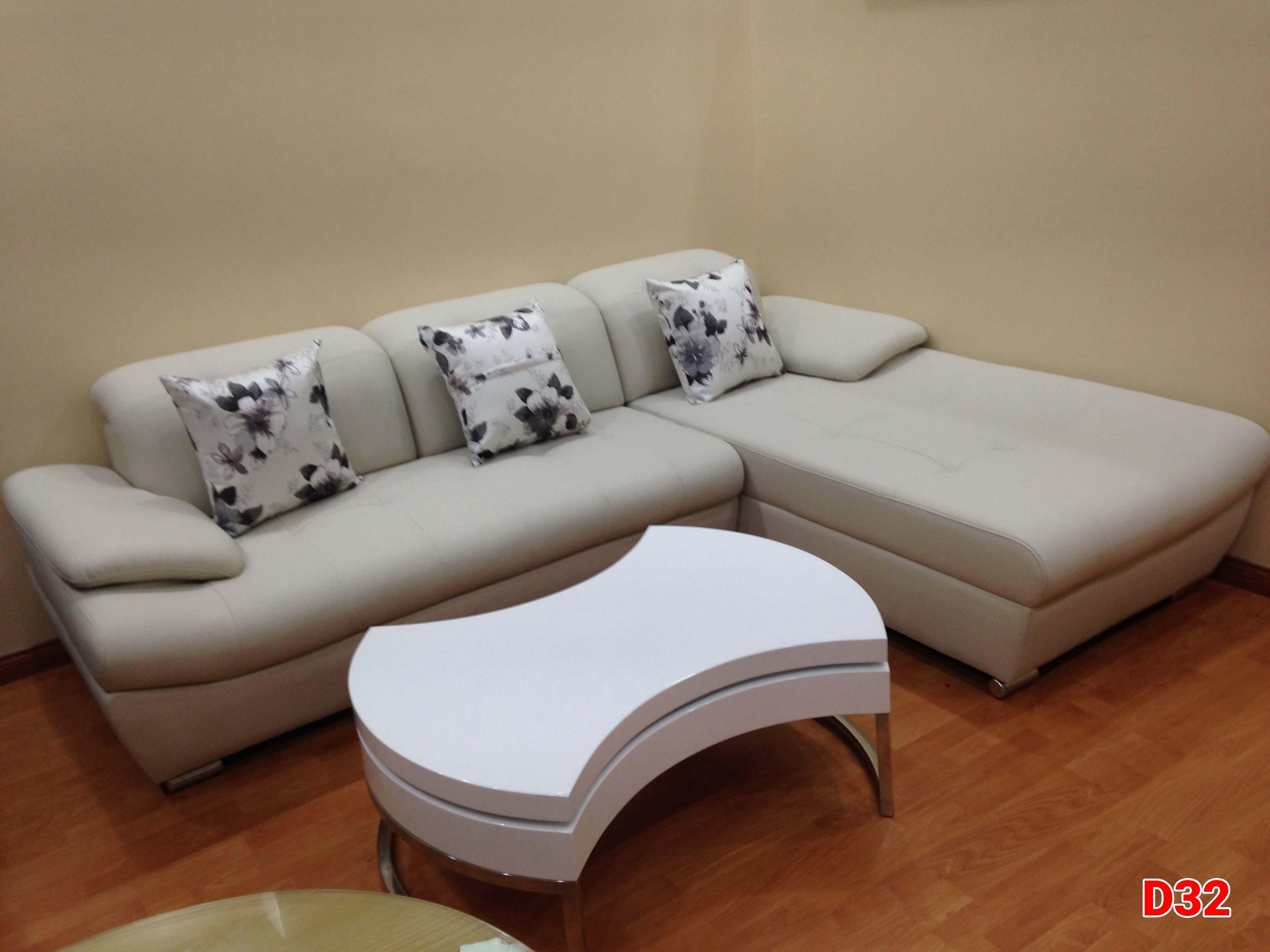 Ghế sofa da D32