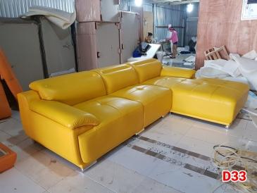 Ghế sofa da D33